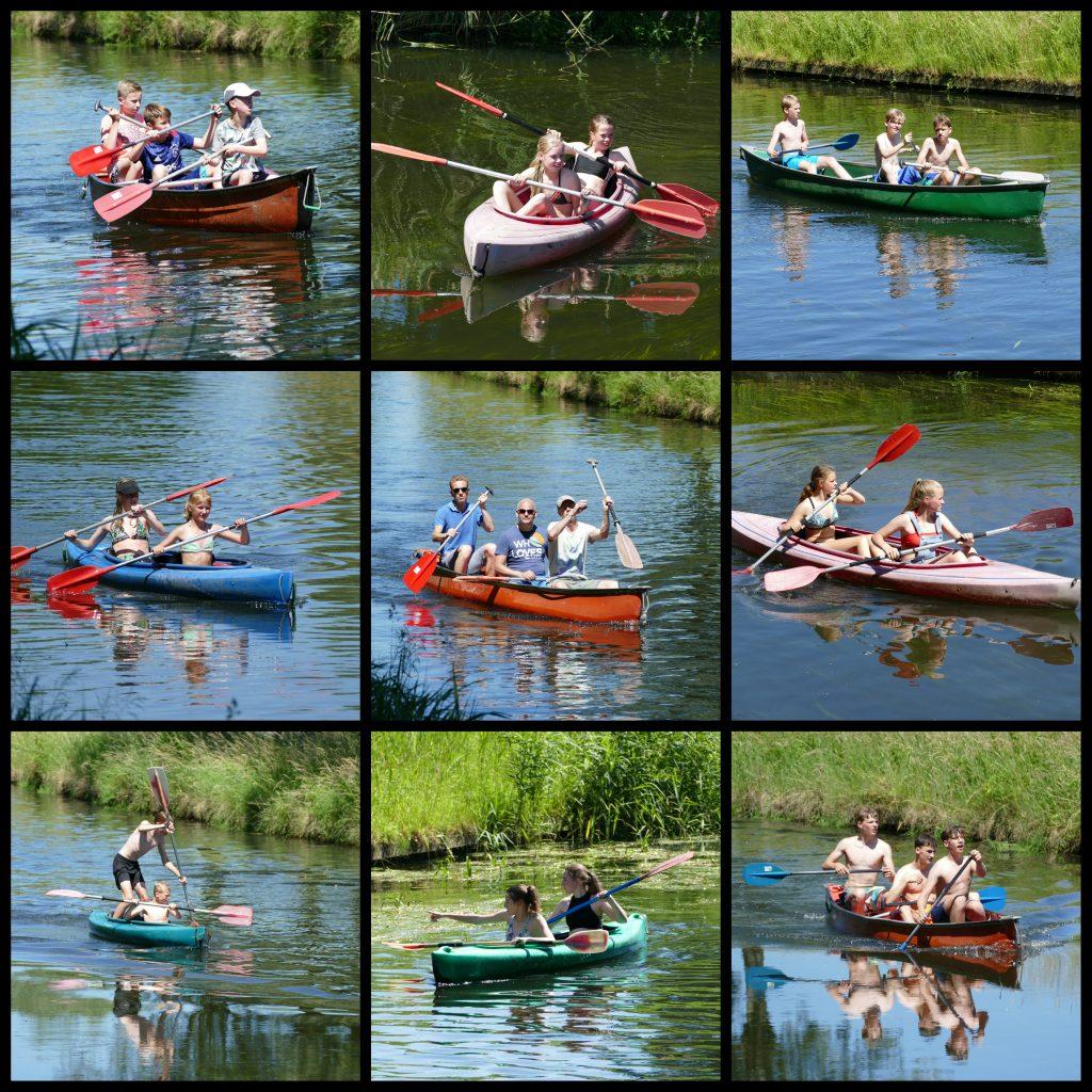 AVT kano foto collage 29 juni junioren