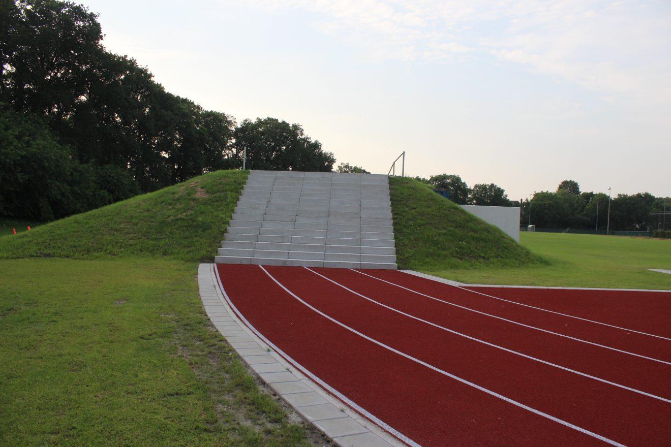 Ingebruikname nieuwe Atletiekaccommodatie