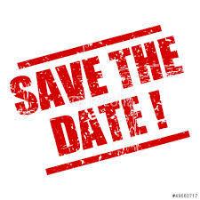 Tijd voor feest save the date