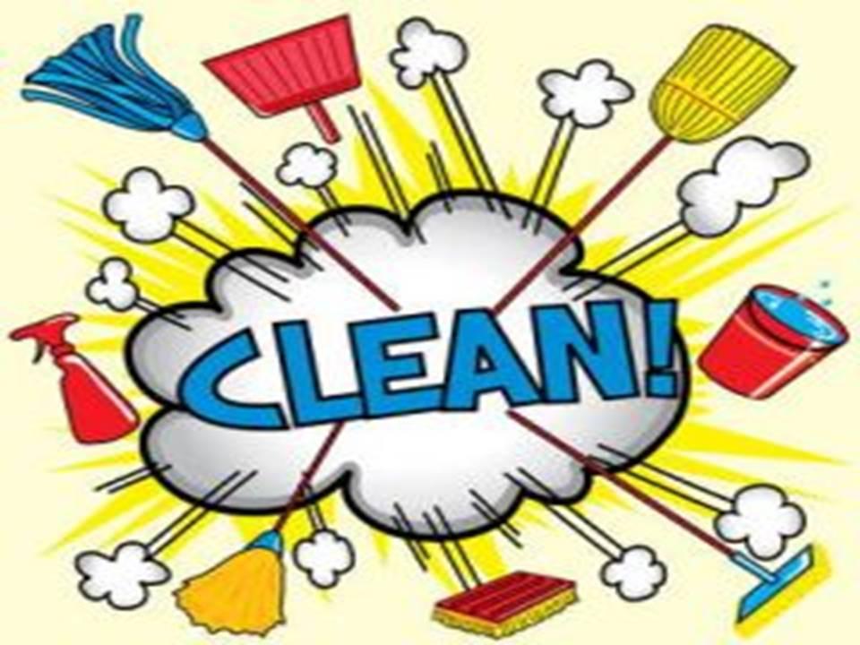 Grote schoonmaak!