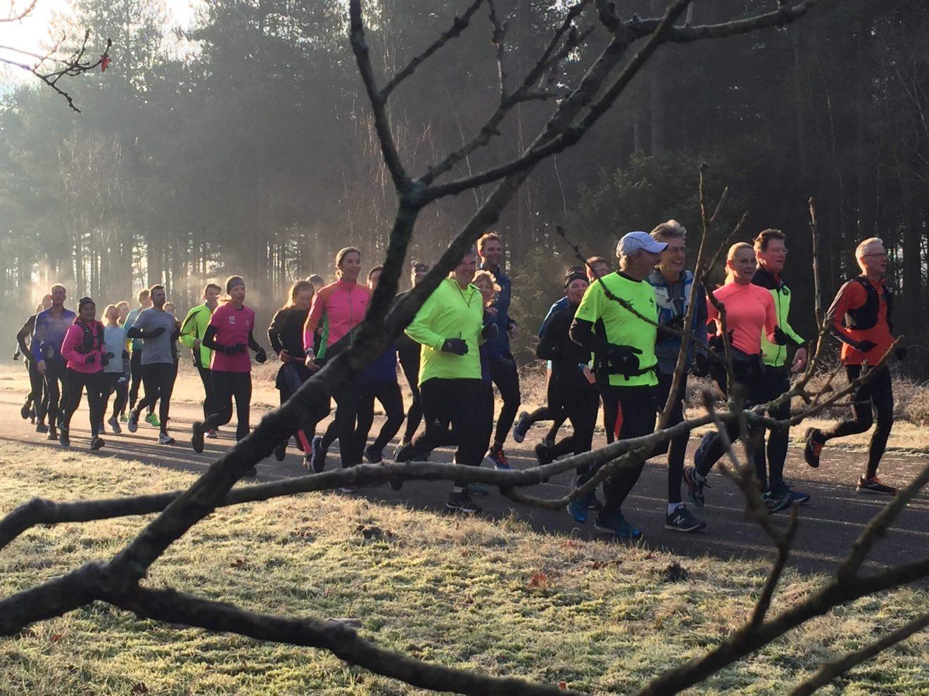 Marathontraining met een smile